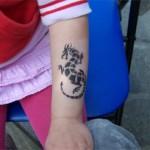 Drachen Airbursh Tattoo in Spremberg
