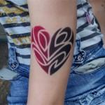 Kinder Tattoos mit Airbrush