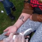 JüterRock in Jüterbog mit Kinder Tattoos