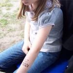 Kinderfeste mit Airbrush Tattoos
