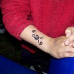 Spass Tattoos sogar in der Nacht beim JüterRock