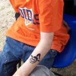 Kinder Tattoos mit Spass Faktor