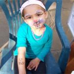 Kinder Airbrush Tattoos als Ergaenzung zum Kinderschminken