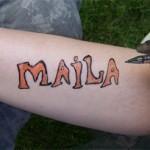 Maila Motiv für die Maila Fans
