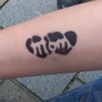 Muttertag Tattoo für Kinder