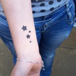 Airbrush Tattoo Sterne