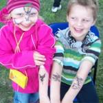 Wir hatten auch viel Spass mit Tattoos aus Berlin