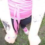 Kinder und Jugend Spass Tattoos im Wildpark Johannismuehle