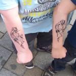 Spass Tattoos für die Kiddys