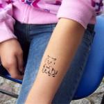 Ackerbuergerfest mit Spass Tattoos