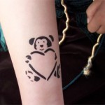 Airbrush Baeren Tattoo in Nauen