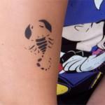 Airbrush Scorpion Tattoo in Nauen