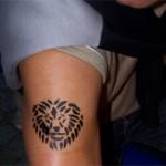 Airbrush Tattoo auch fuer Eltern