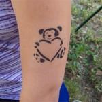 Airbrush Tattoo in Muellrose