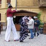 Animation beim Ackerbuergerfest in Nauen