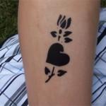 Baywatch Airbrush Tattoo