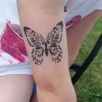 Butterfly Airbrush Tattoo