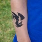 Drachen Airbrush Tattoo
