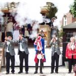 Feuer frei beim Ackerbuergerfest in Nauen