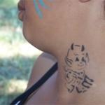 Kinderschminken und Spass Tattoos als Kombination