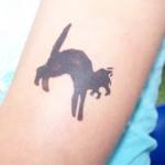 Katzen Tattoo