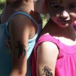 Kinder Pferde Tattoos in Bochow