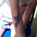 Kinder Tattoo Schmetterlinge