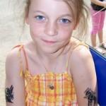 Kinder Tattoos fuer Maedchen