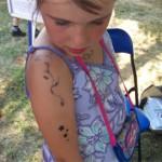 Kinderschminken und Spass Tattoos