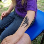 Pferdchen Airbrush Tattoo