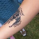 Pferde Aibrush Tattoos