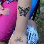 Schmetterling als Tattoos