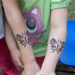 Schmetterlinge als Tattoos