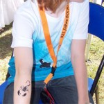 Spass Tattoos fuer Kinder