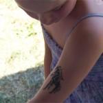 Kinder Spass Tattoos