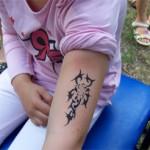 Tribal Airbrush Tattoo