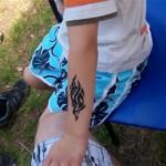 Tribal Airbrush Tattoo in Muellrose