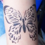 Airbrush Butterfly