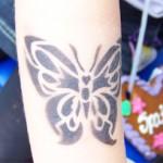 Airbrush Schmetterling für Kids