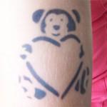 Airbrush Spass Teddy