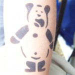 Airbrush Spass Teddybär