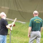 Armbrustschiessen beim Parkfest in Zabeltitz