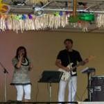 Live Musik beim Parkfest in Zabeltitz