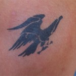 Greifvogel Airbrush Tattoo