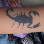 Scorpion Airbrush Tattoo
