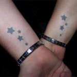 Stars Airbrush Tattoo