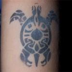 Turtle Airbrush Tattoo
